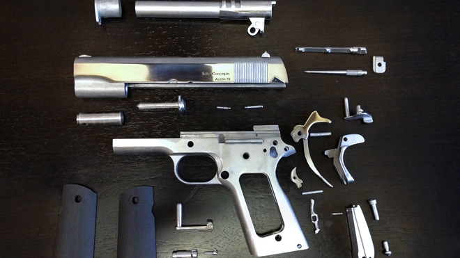 First 3D-Printed Metal Gun