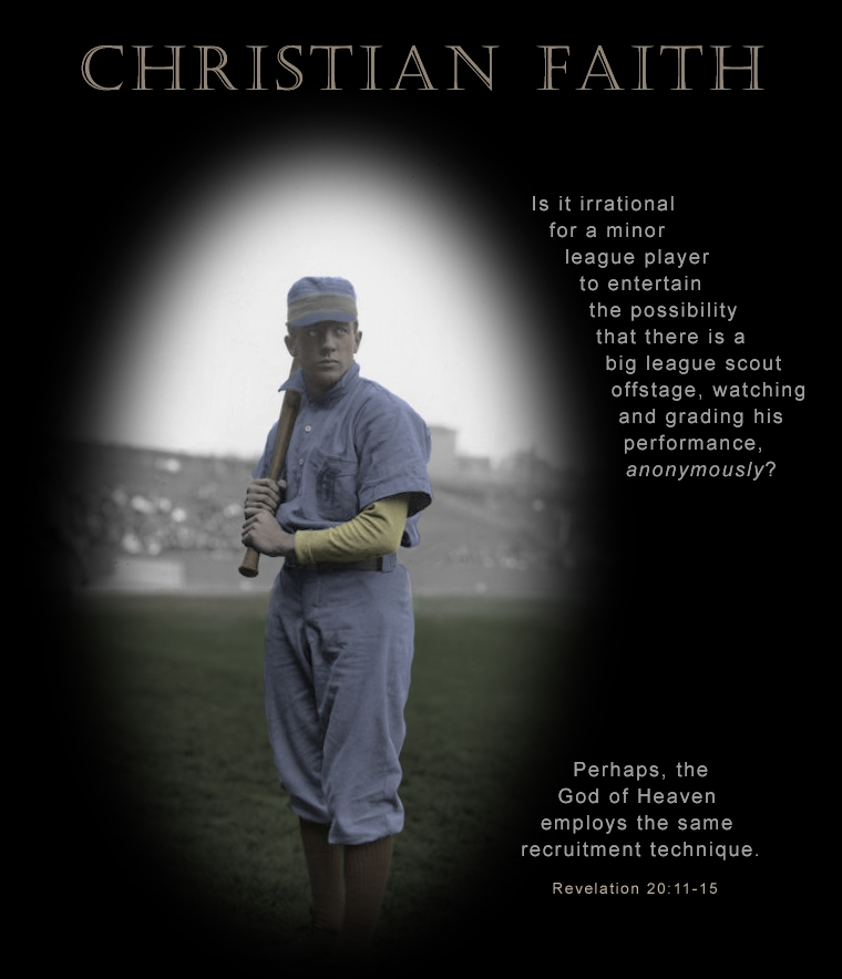 Christian Faith Poster Mark Plain