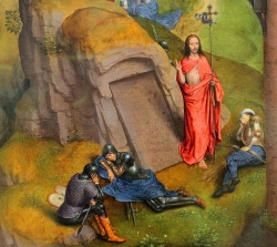 Succulent Wallpaper Advent and Triumph of Christ Detail 1 Hans Memling