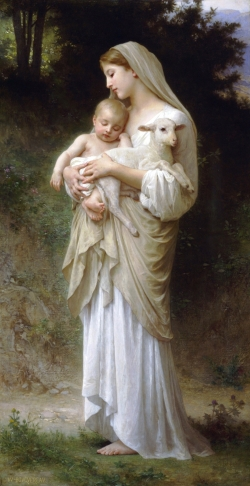 Succulent Wallpaper Innocence Bouguereau