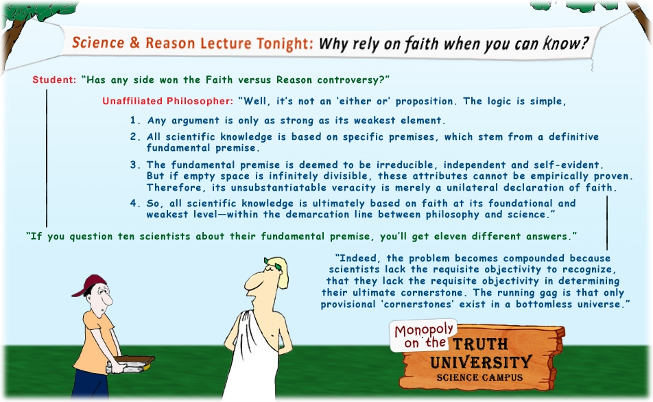philosophy faith versus reason mark plain